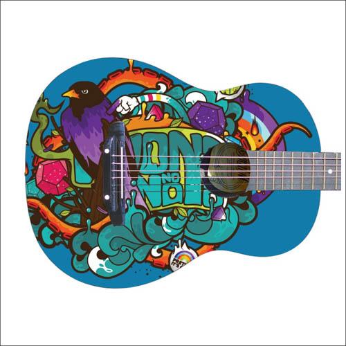 Наклейки для гитары